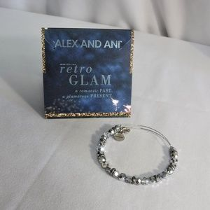 ALEX AND ANI Retro Glam Beaded Bracelet
